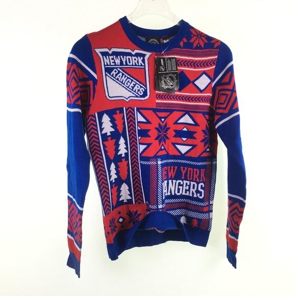 84e02264663 NHL Sweaters | Ny New York Rangers Ugly H116087 | Poshmark